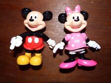 Mickey and Minnie Mouse baby toy figure toy playset click SEN Bundle Disney toys