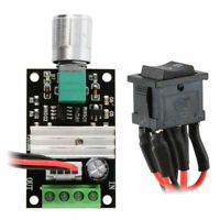6-24V 3A DC Motor Speed Controller Pulse Width PWM Speed Regulator Switch