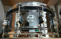 """PDP BY DW 14x6,5"""" SNAREDRUM BLACK NICKEL OVER STEEL Rullante Caisse Claire Stahl"""