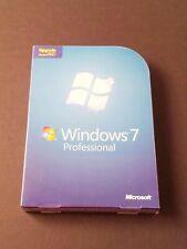 Microsoft Windows 7 Professional Upgrade 32 & 64 Bit DVDs MS WIN PRO SEALED BOX
