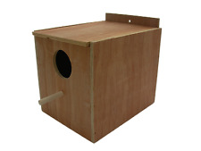 COCKATIEL NESTING BOX , REGULAR , MOUNTING INSIDE BIRD CAGE
