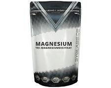 (2,9€/100g)SygLabs Tri-Magnesiumdicitrat Pulver - 2x500g Magnesium Citrat Powder