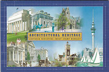 2002 New Zealand, Architectural Heritage, Prestige Booklet, SG SP 3