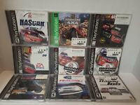 9 Game Racing Bundle for Playstation 1 Nascar 2001, Nascar Thunder 2002 & 2003 &