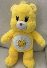 Build A Bear Yellow Funshine Sunshine Care Bear Plush Soft Toy 17""