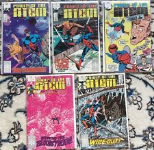 DC POWER OF THE ATOM  (5 ISSUES)  NO. #5 11 12 13 16   NM-