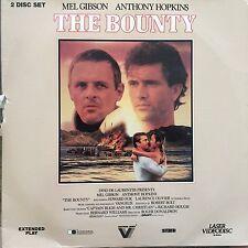 LASERDISC - NTSC - THE BOUNTY - MEL GIBSON, ANTHONY HOPKINS