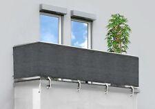 Sichtschutz, Windschutz, Balkon- und Zaunverkleidung, anthrazit 0,8 x 5 m, NEU
