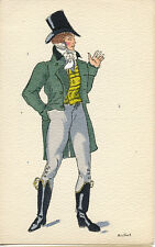 CPA HISTOIRE DU COSTUME FRANÇAIS - EMPIRE 1811 PAR ROUILLIER