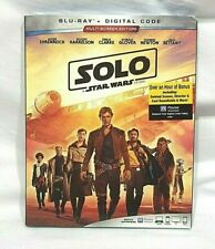 Solo A Star Wars Story Blu-Ray + Digital Code Brand New Sealed W/ Slip Cover