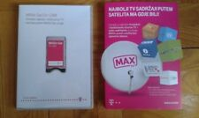 MAX TV / SAT Modul & Karte / 12 Monate Prepaid / Kroatien Hrvatska Croatia