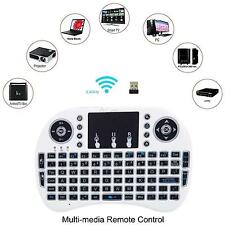 Backlight Mini Wireless Keyboard Keyboard Touchpad Remote Control with Receiver