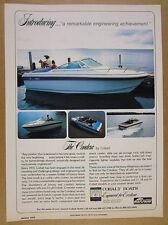 1978 Cobalt CONDESA Boat 4x color photo vintage print Ad