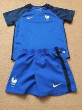 France Football Kit Para Chicos/Chicas Tamaño 4/5 años Nike