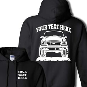 FORD RANGER - 1999 - 2003 - PERSONALIZED HOODIE PULLOVER - #HOR001