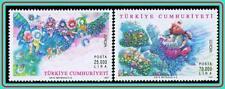 TURKEY 1987 EUROPA-CEPT / FAIRY TALES  MNH JOINT ISSUE, BIRDS
