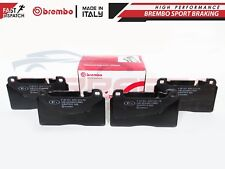 FOR AUDI A6 C7 ALL ROAD A7 Q5 FRONT GENUINE BREMBO BRAKE PADS SET P85123
