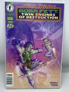 Star Wars Boba Fett: Twin Engines of Destruction NEWSSTAND Comic  F/VF