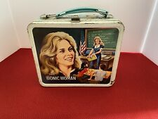 Bionic Woman Vintage Lunchbox With Thermos