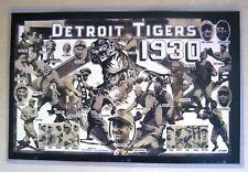 1930  Detroit Tigers Double Spread - Detroit Times - COPY 19 Yr Hank Greenberg