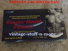 6-3800mg 1-Box SUPER HARD POWER! Libido, Herbal Enhancement NHP Volume Pills!