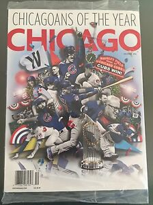 CHICAGO MAGAZINE CHICAGO CUBS 2016 WORLD SERIES COMMEMORATIVE ISSUE SEALED