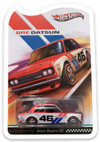 MAGNET RED LINE CLUB BRE DATSUN BLUEBIRD 510 MAGNET for Fridge Toolbox