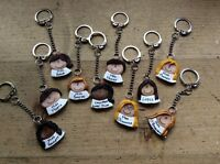 Personalised birthday keyring age Handmade Made To Order 18th 21st 30th 40th 50