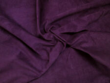 Pig skin suede Velvet nap Small pieces. BARKERS H387S Purple pigsuede