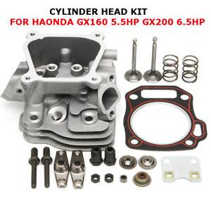 Cylinder Head Intake Exhaust Valve Gasket Kit For Honda GX160 5.5HP GX200  G
