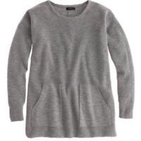 EUC J Crew 100% Merino wool sweater with front pockets xxs 00