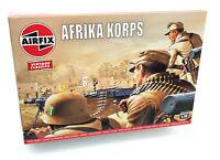 AIRFIX® 1:76 WW2 AFRIKA KORPS VINTAGE MODEL KIT SOLDIERS WORLD WAR 2 A00711V