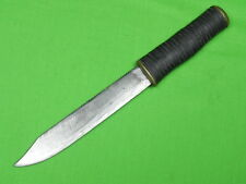 Vintage US Custom Hand Made Saw Back Theater Fighting Knife