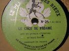 78 rpm-PLAISIR DES DIEUX - TONUS SALLE DE GARDE - ASCLEPIOS N°25/26