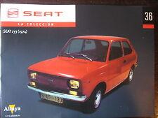 FASCICULE 36 SEAT COLLECCION SEAT 133 DE 1974