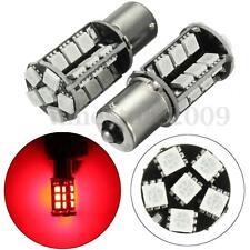 2x Red BA15S 382 p21w R5W 1156 Car LED Backup Rear Stop Tail Brake Lights Bulbs