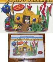 Kinder Raro Diorama Alemán Set Spongebob Yellow Submarine Raro Limitado 1200