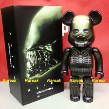 Medicom 2016 Be@rbrick 20th Century Fox 400% L'ALIENO BEARBRICK 1pc