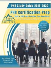 PHR Study Guide 2019-2020:PHR Certification Prep and Practice Test Questions New