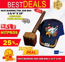 Hilti Bushing Tool Sds Max 1 34 X 10 Preowned Free Extras Fast Shipping