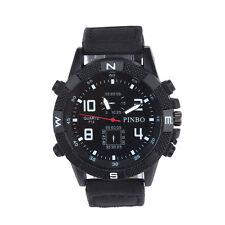 Luxury Men's Watch Boy Watches Canvas Field Sport Military Bracelet Wristwatches