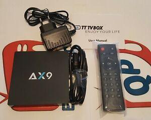 TT TV Box Anroid 7.1 2.4G WIFI Smart 1G DDR3/8GEMMC, EU Plug