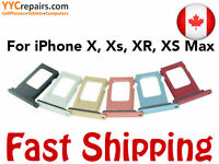 OEM Nano SIM Card Slot Tray Holder Replacement For iPhone X XR XS XS Max SimTray