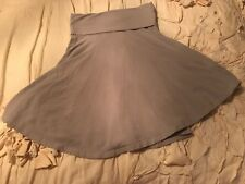Splendid Swing Jersey Skirt Yoga Gray Sz S Small