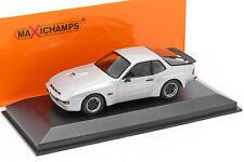 Porsche 924 GT Baujahr 1981 silber 1:43 Minichamps