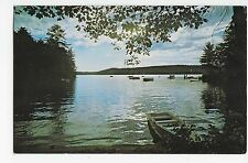 Spofford Lake NH Boats New Hampshire Vintage Postcard