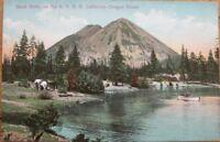 1909 Postcard: Black Butte-Southern Pacific Railroad-Siskiyou County, California