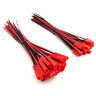 20 pairs JST Connector Male and Female 15cm 22AWG Pre-Wired Leads