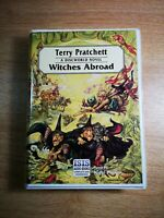 TERRY PRATCHETT '' WITCHES ABROAD '' - 8 audio cassetttes - A DISCWORLD NOVEL.