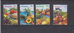 Australien 1987 einheimische Früchte kompl. Satz gestempelt